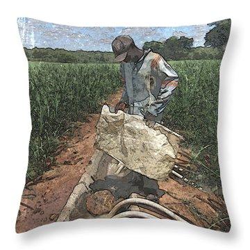 Raising Cane Throw Pillow