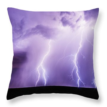 Rake Throw Pillow