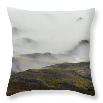 Ramble Thru The Mountains I Throw Pillow
