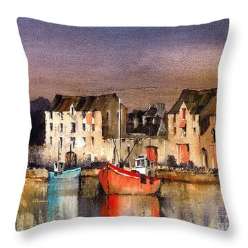 Ramelton Dusk  Donegal Throw Pillow