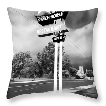 Ranch House Throw Pillow