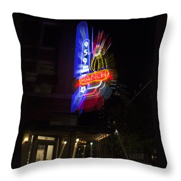 Ranch Radio Throw Pillow