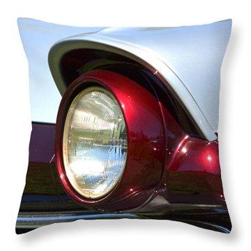 Ranch Wagon Headlight Throw Pillow