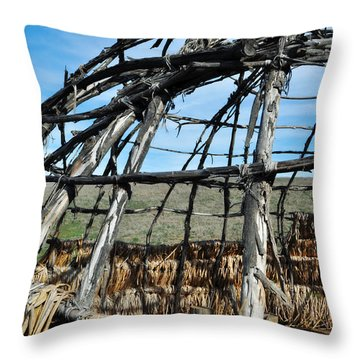 Rancho Sierra Vista Satwiwa Chumash Ap Home Throw Pillow