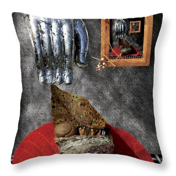 Random Acts Of Dreaming #5 Throw Pillow by Nola Lee Kelsey