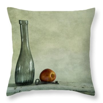 Random Still Life Throw Pillow by Priska Wettstein
