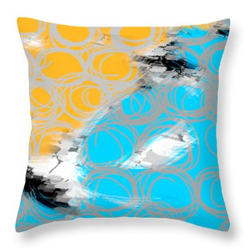 Random Thoughts Throw Pillow by Ann Powell