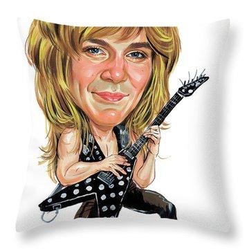 Ozzy Osbourne Throw Pillows