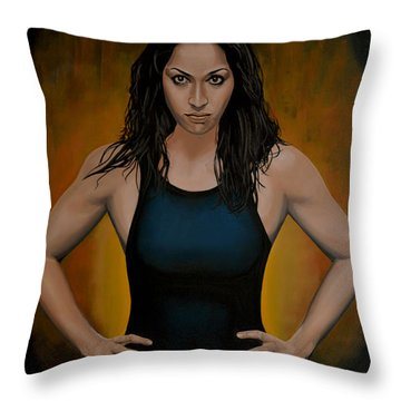 Ranomi Kromowidjojo Throw Pillow