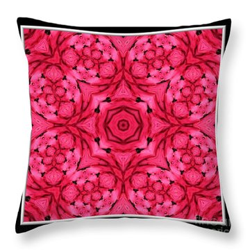 Throw Pillow featuring the photograph Ranunculus Flower Warp by Rose Santuci-Sofranko