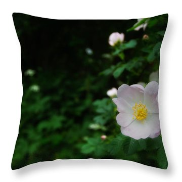 Ranunculus Throw Pillow