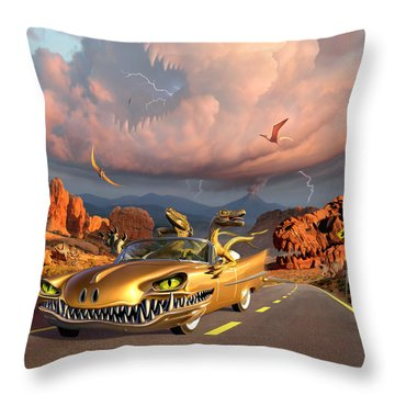 Rapt Patrol Throw Pillow