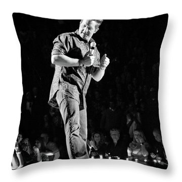 Rascal Flatts 5030 Throw Pillow by Timothy Bischoff