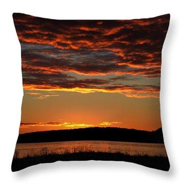 Rathtrevor Sunrise Throw Pillow