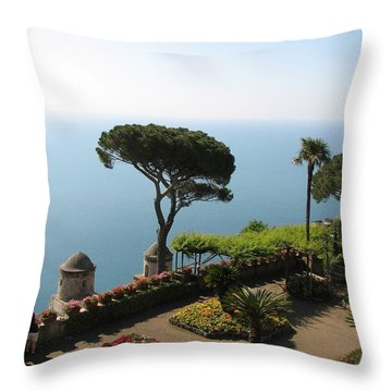 Throw Pillow featuring the photograph Ravello by Carla Parris