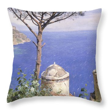 Ravello Throw Pillow by Peder Monsted