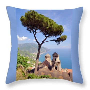 Ravello Pine Throw Pillow by Alan Toepfer