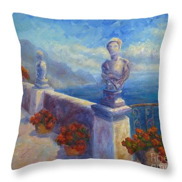 Ravello View Throw Pillow