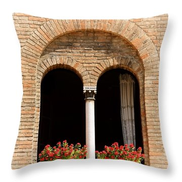 Ravenna Window Throw Pillow