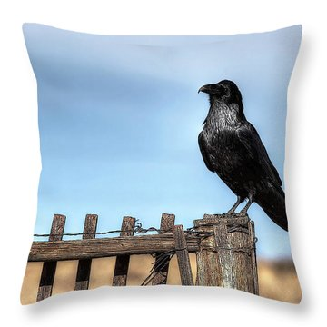 Ravenous Pride Throw Pillow