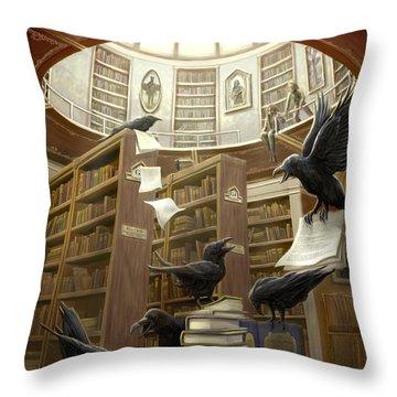 Poe Throw Pillows