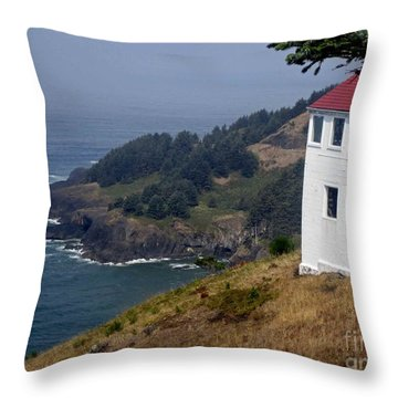 Raw Powerful Beauty Throw Pillow by Fiona Kennard