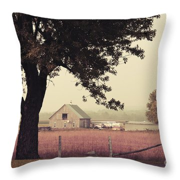 Rawdon's Countrylife Throw Pillow