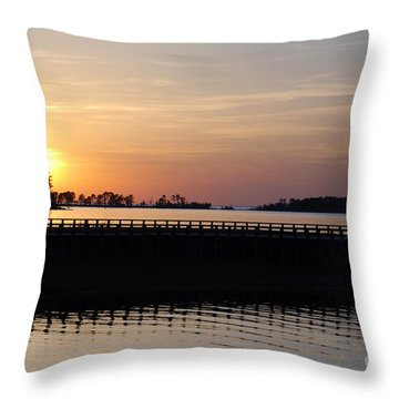 Rayburn Marina Throw Pillow