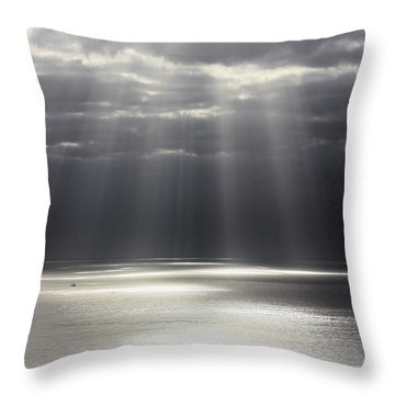 Rays Of Hope Throw Pillow