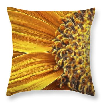 Rays Of Sunshine Throw Pillow