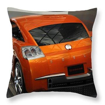 Razor Sharp Throw Pillow by Bill Woodstock