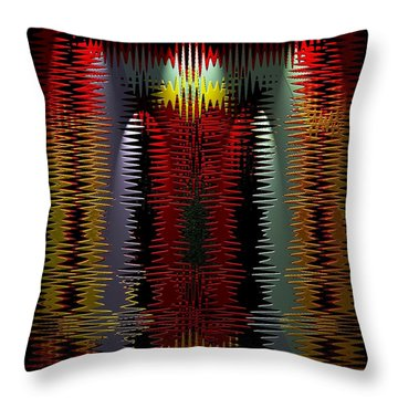 Razors Edge Throw Pillow