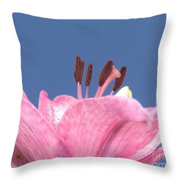 Reach For The Sky - Signed Throw Pillow