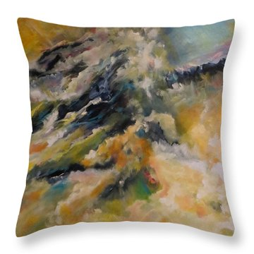Reach For The Top    Throw Pillow