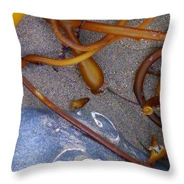 Reach The Beach  Throw Pillow