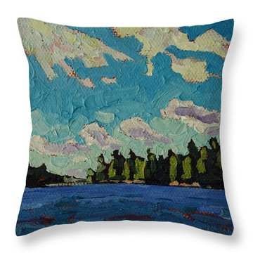 Reach To Grippen Throw Pillow by Phil Chadwick