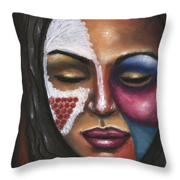 Reaching Deep Within Throw Pillow