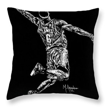 Reaching For Greatness #6 Throw Pillow