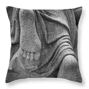 Throw Pillow featuring the photograph Reaching  Heaven by Randy Pollard