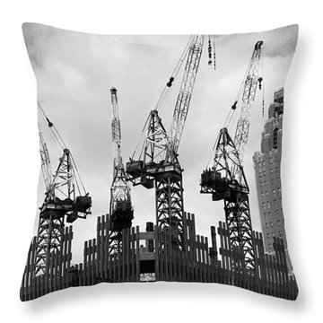 Reaching High Throw Pillow