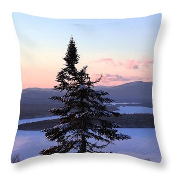 Reaching Higher Throw Pillow by Mike Breau