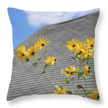 Reaching Throw Pillow by Jean Goodwin Brooks