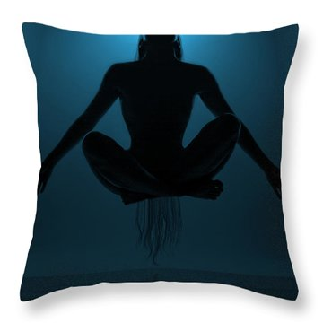 Reaching Nirvana.. Throw Pillow