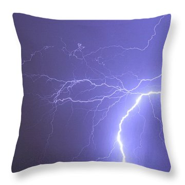 Reaching Out Touching Me Touching You Throw Pillow by James BO  Insogna