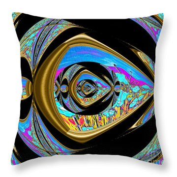 Reaching  The Dream Throw Pillow