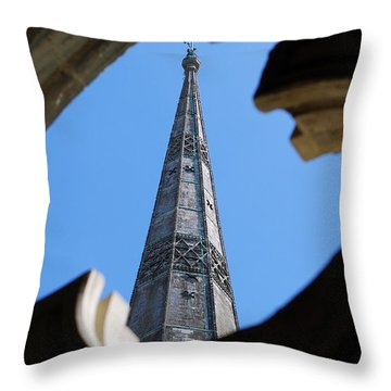 Reaching Towards Heaven Throw Pillow by Wendy Wilton