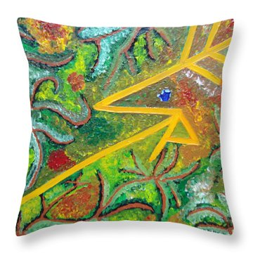 Reaching4fulfillment Throw Pillow