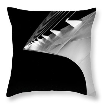 Reading A Sundial At Midnight Throw Pillow