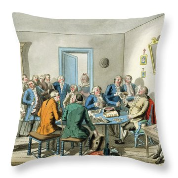 Reading A Will Throw Pillow