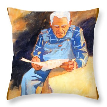 Reading Time Throw Pillow